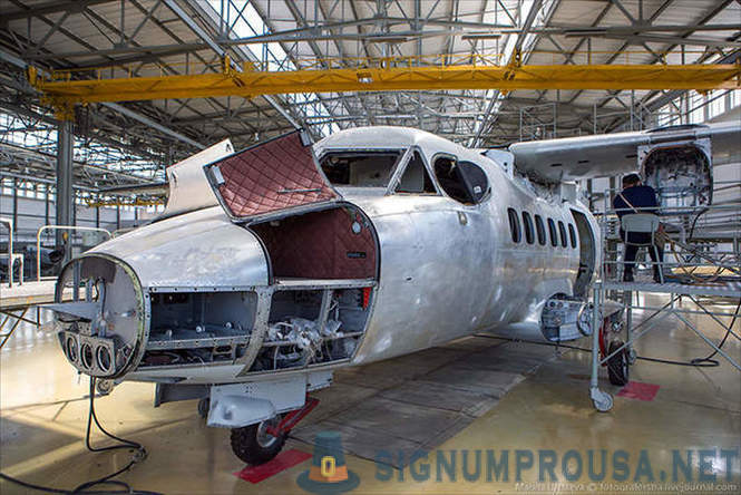 Planta Repair 123 Aircraft