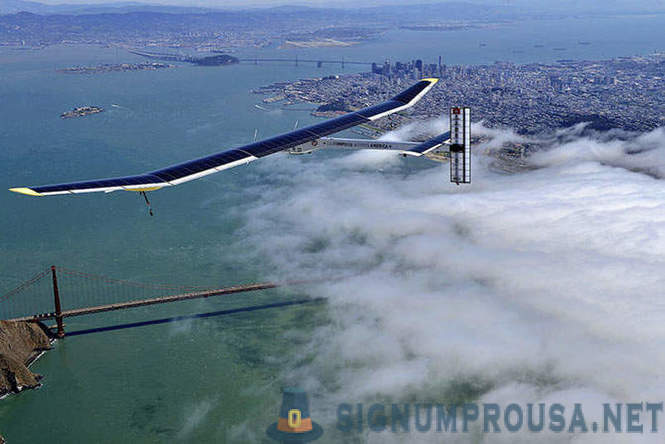 Aviação Futuro - Solar Impulse